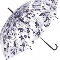 POE傘  百花涼藍 澄花