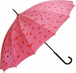 16本骨撥水傘 わにゃんこ