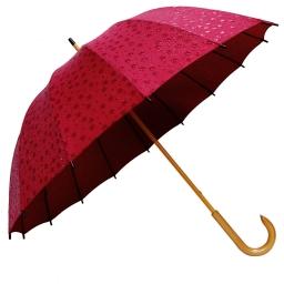 16本骨撥水傘 和桜